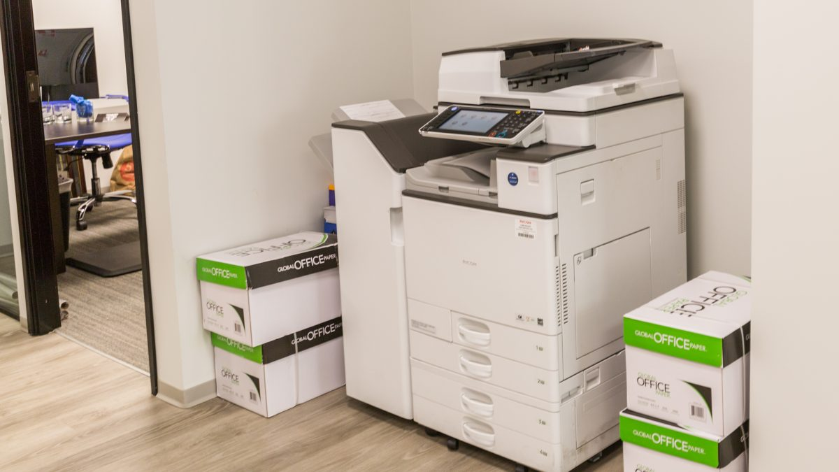 Office Space Copier Leasing and Equipment