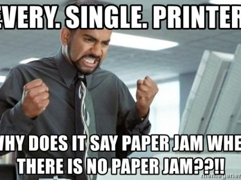 Office Space Printer Jam